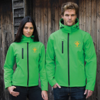 Coventry Emeralds Green Softshell Jacket